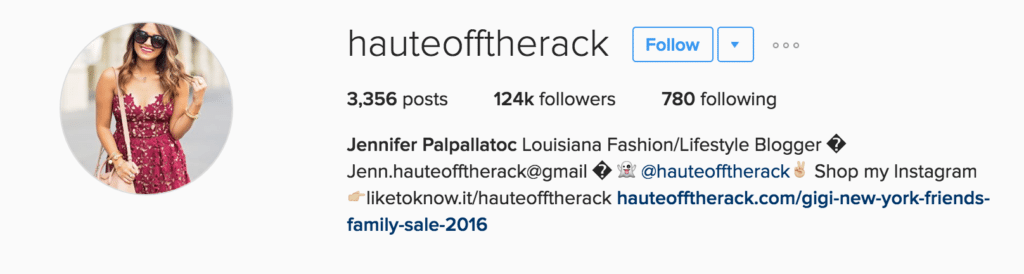 haute off the rack louisiana new orleans fashion blogger influencer marketing
