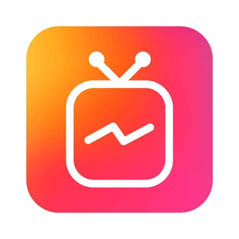 IGTV Instagram TV Icon